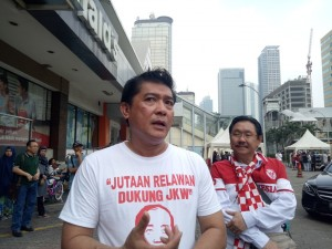 Relawan Jokowi tak Gentar Hadapi Tagar Ganti Presiden