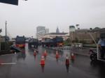Polisi Lakukan Rekayasa Lalin di Depan DPR/MPR