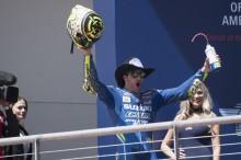 Kata Iannone ketika Naik Podium Perdana untuk Suzuki