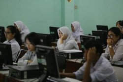 UNBK SMP di Kota Bandung Diklaim Lancar