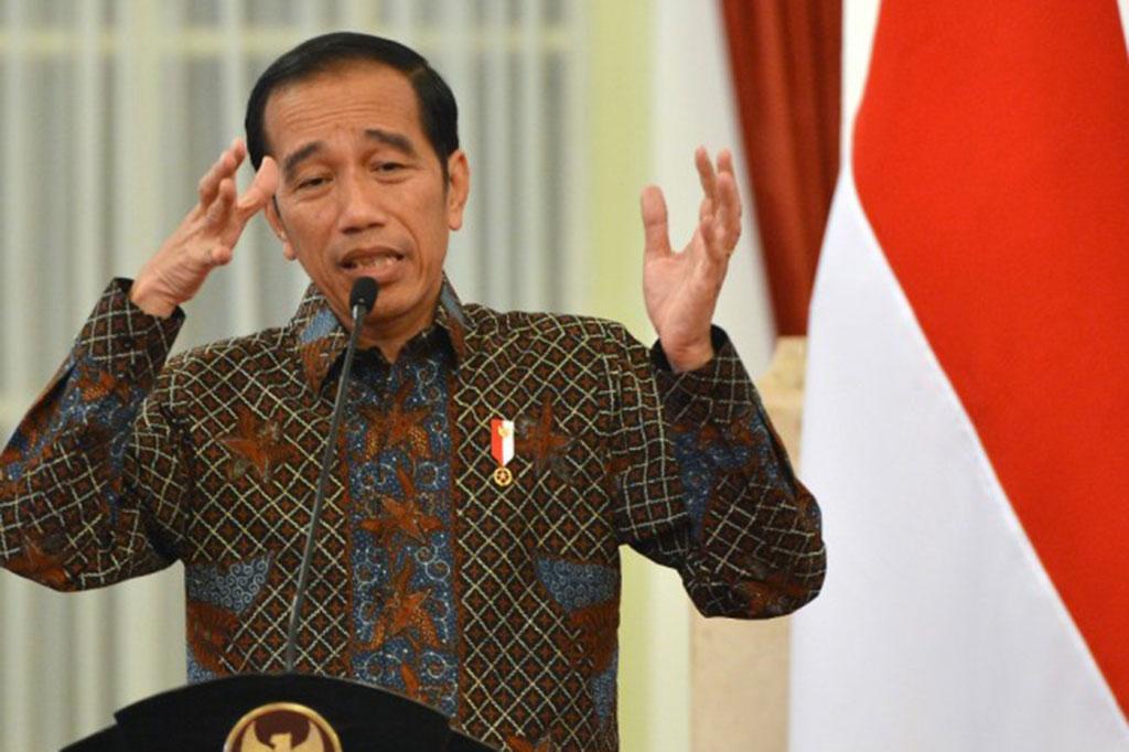 Presiden Joko Widodo (Foto: Antara/Wahyu Putro A)