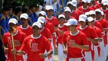 Kirab Obor Asian Games akan Lewati 53 Kota di Indonesia