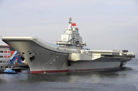 Kapal Induk Tiongkok Pimpin Latihan di Laut China Timur