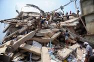 Demonstran Tuntut Keadilan atas Tragedi Pabrik Bangladesh