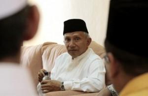 Amien Sebut Elektabilitas Jokowi Terus Merosot