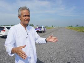 Bandara Ngloram, Infrastruktur Transportasi Udara Ketiga Era Ganjar