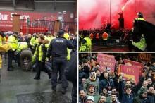 Suporter Roma Serang Pendukung Liverpool Pakai Gesper, Satu Orang Tua Terkapar