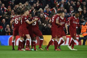 Hujan Gol Warnai Laga Liverpool Kontra AS Roma