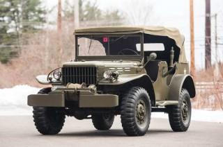 Mobil Militer Dodge WC 1942 Langka Siap Dikoleksi