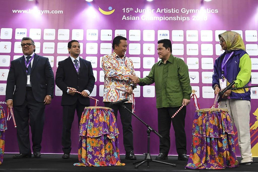 Menpora Buka Kejuaraan Senam Artistik Junior Asia