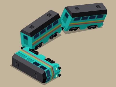 Mobil Boks Tertabrak Kereta di Stasiun Gang Sentiong