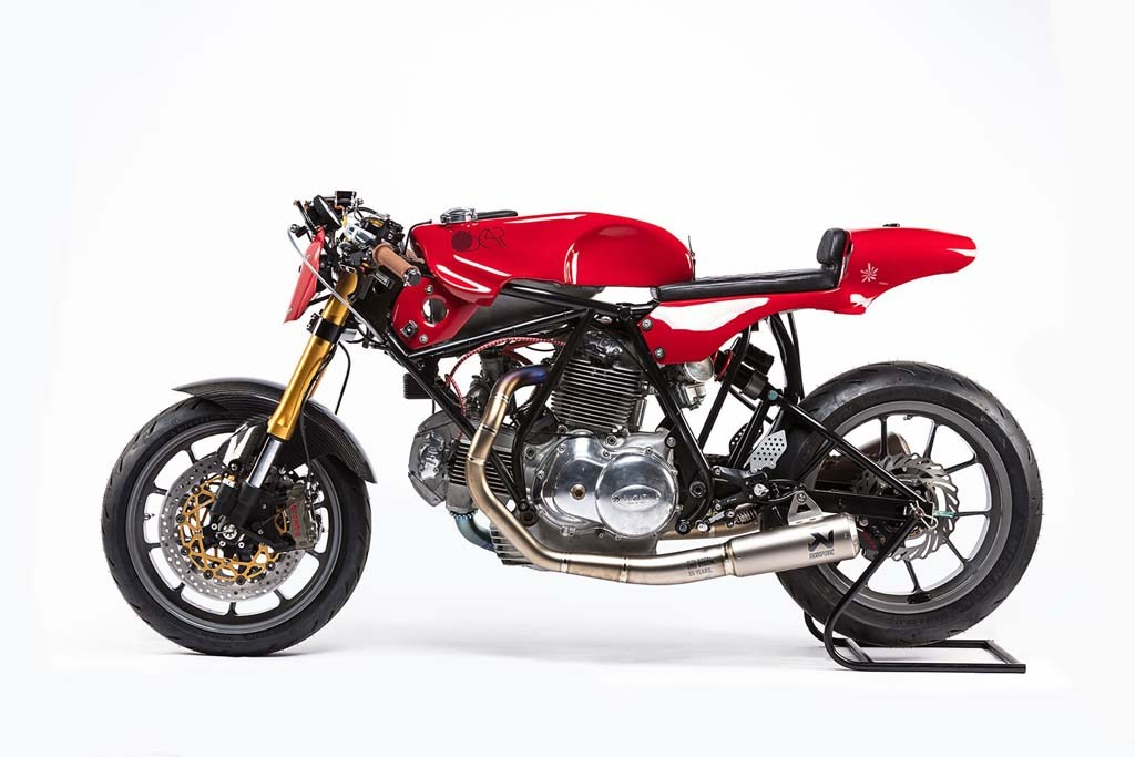Ducati 750 Sport 1974 jadi kado untuk Alpinestars di tahun ke-55. MCN
