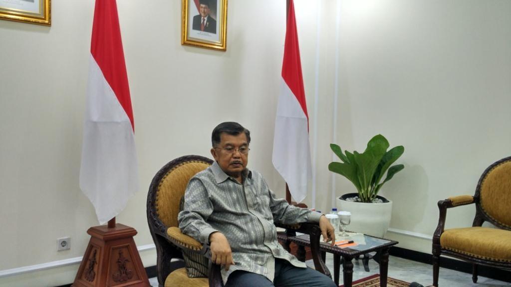 Wakil Presiden Jusuf Kalla. Foto: Medcom.id/Dheri Agriesta.