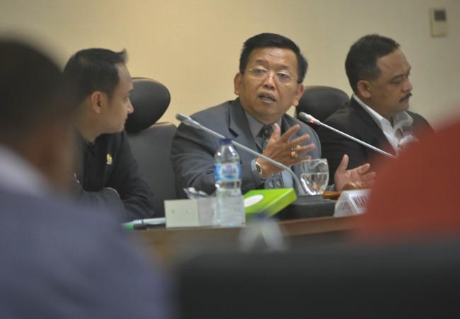 Ketua Komite I DPD Akhmad Muqowam (Foto:MI)
