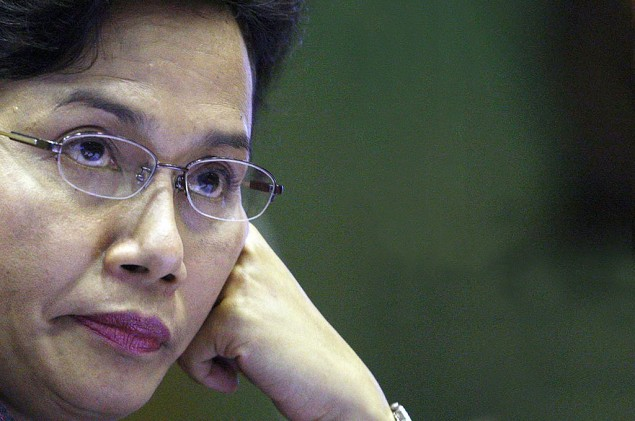 Menteri Keuangan Sri Mulyani. MI/Susanto.