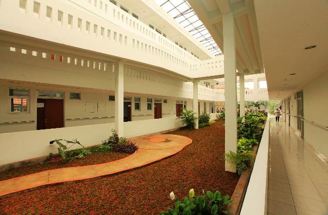 Rusun baru khusus lansia ini hanya terdiri dari tiga lantai dan berisi 90 unit.