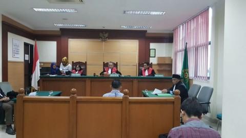 PN Tangerang Putus Bebas Bong Parnoto