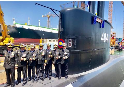 Kapal Selam Ardadedali-404 Perkuat TNI AL