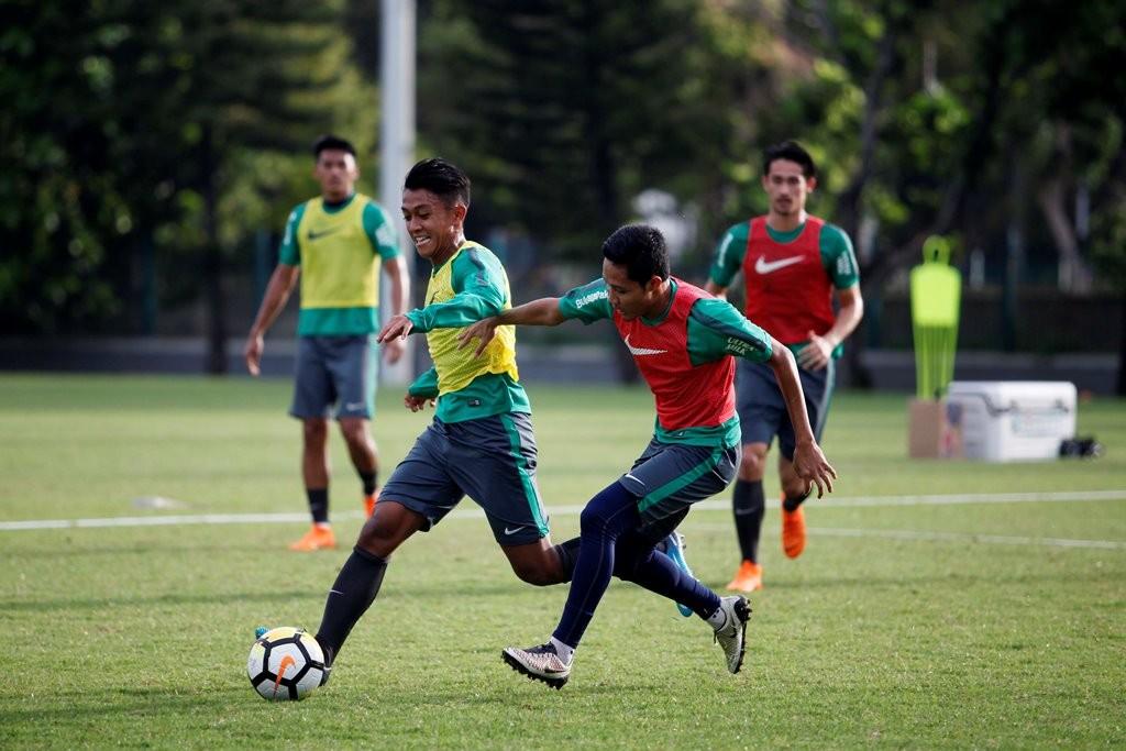Timnas Indonesia U-23 (Foto MI/ROMMY PUJIANTO)