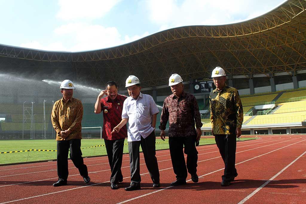 Wapres Tinjau Venue Asian Games 2018