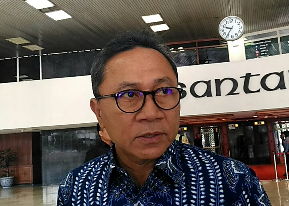 Ketua Umum PAN Zulkfili Hasan - MEdcom.id/Ilham Wibowo.
