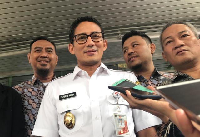 Wakil Gubernur DKI Jakarta Sandiaga Uno. Foto: Medcom.id/Haifa.