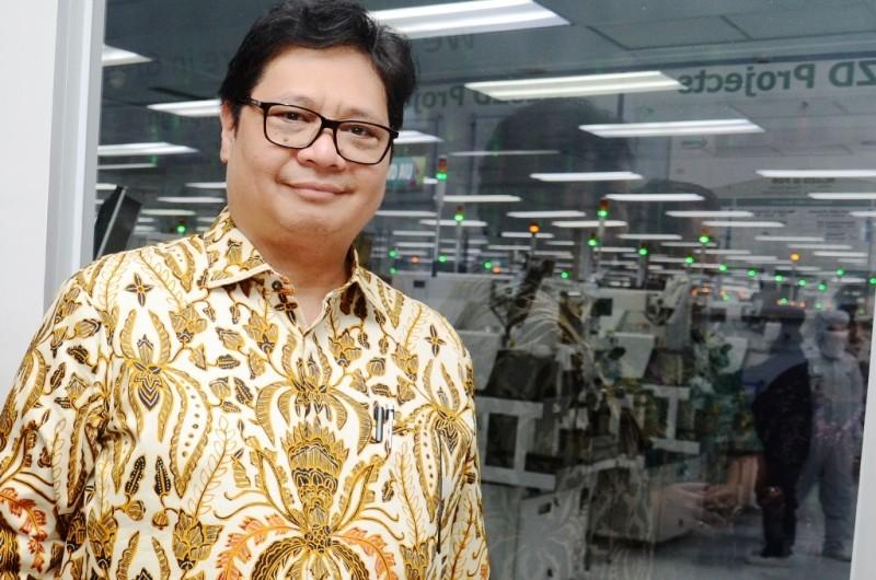 Menteri Perindustrian Airlangga Hartarto. (FOTO: Dokumentasi Kemenperin)