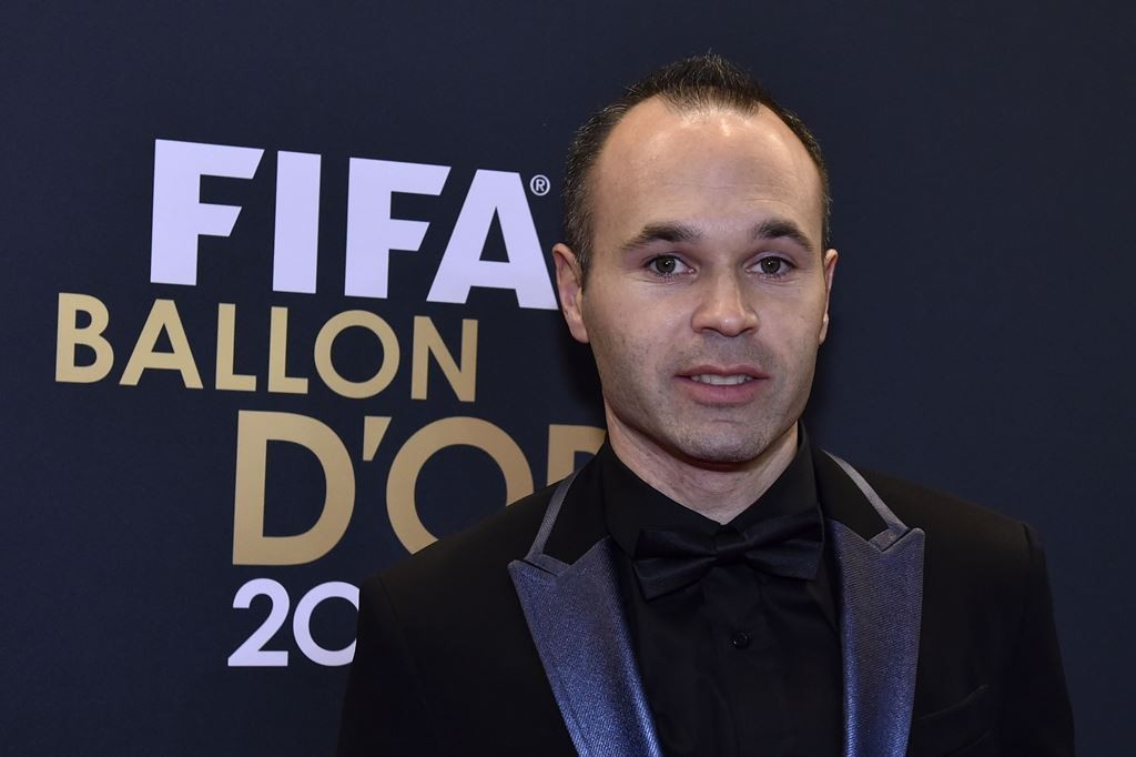 Andres Iniesta. (Foto: AFP PHOTO / MICHAEL BUHOLZER)