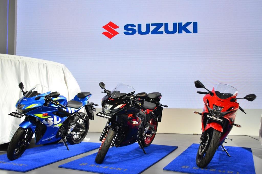 New Suzuki GSX-R150 meluncur di IIMS 2018. MEdcom.id/Ekawan raharja