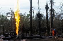 Kesehatan Warga Terdampak Semburan Sumur Minyak di Aceh Timur