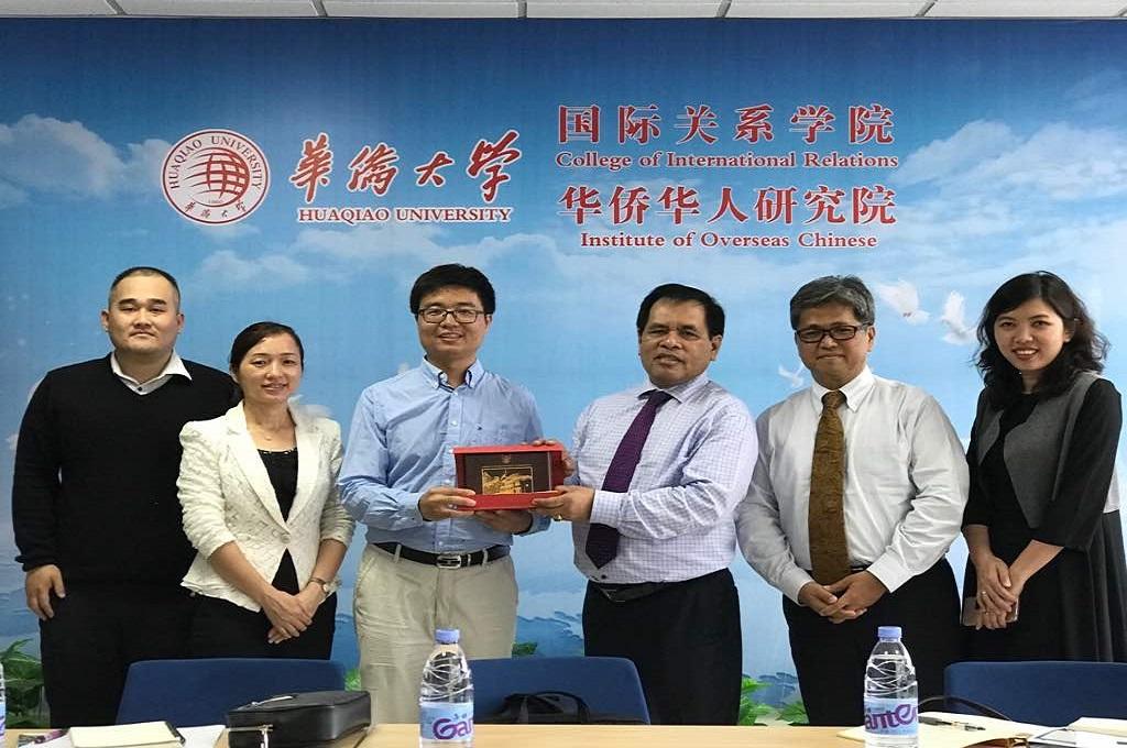 Kunjungan ke Universitas Huaqiao di Kota Xiamen, Provinsi Fujian, Tiongkok, Jumat 27 April 2018. (Foto: KJRI Guangzhou)