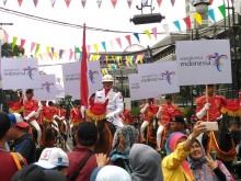 Warga Bandung Padati Kawasan Karnaval Peringatan KAA ke-63