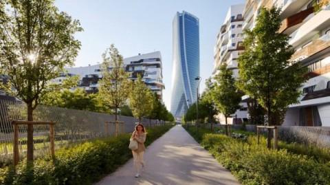 Menara 'Terpuntir' di Milan