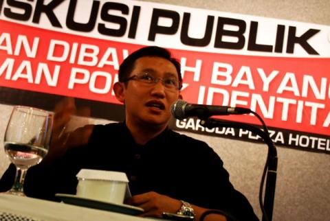 CEO PolMark Indonesia, Political Marketing Consulting, Eep Saefulloh Fatah.