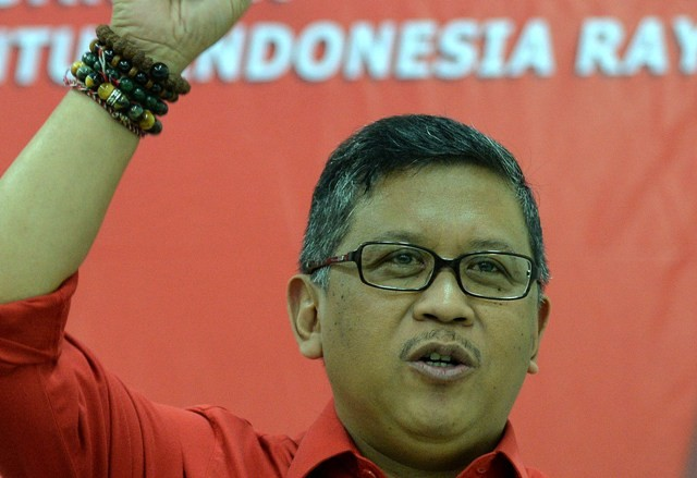 Sekjen PDI Perjuangan Hasto Kristiyanto/ANT/Widodo S. Jusuf