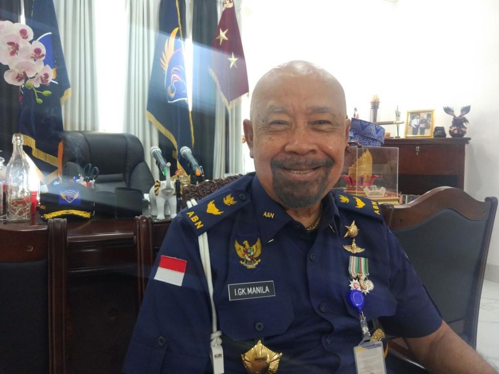 Gubernur ABN NasDem IGK Manila/Medcom.id/Annisa Ayu Artanti
