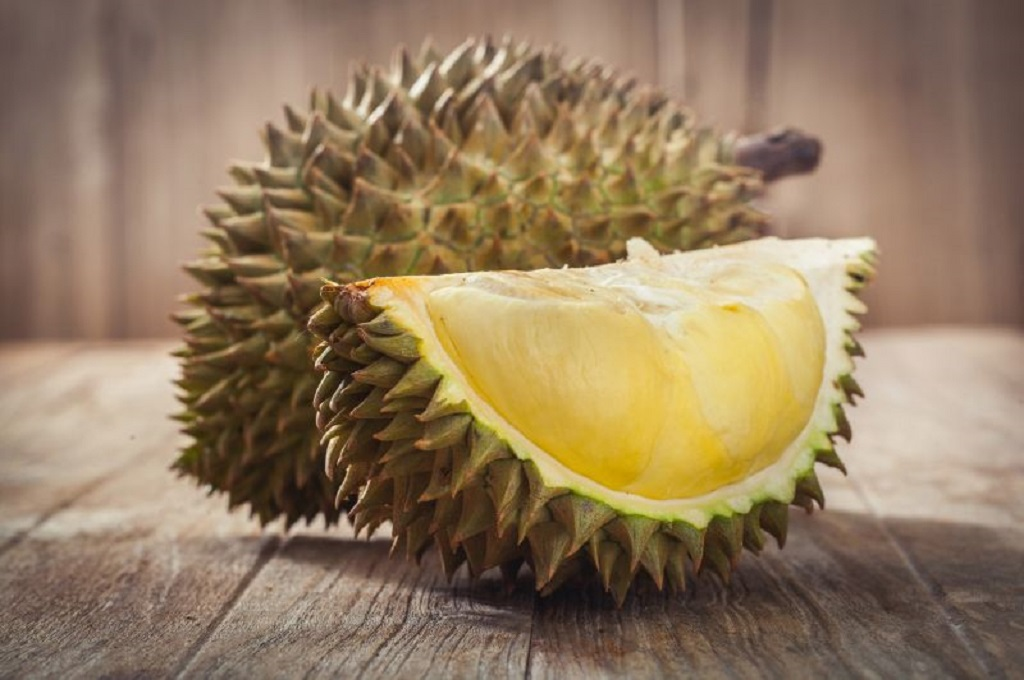 Buah durian. (Foto: AFP)