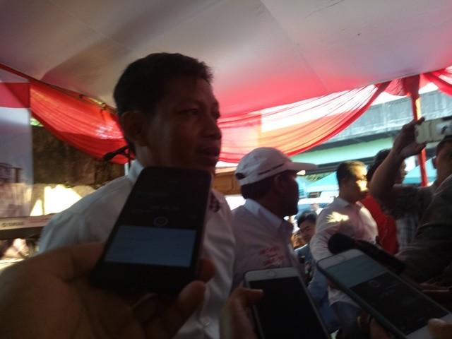 Ketua Pengelola Rumah Jokowi Yongki Jonacta. Foto: Medcom.id/Intan Yunelia