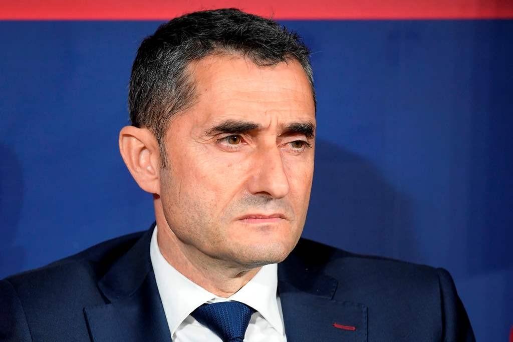 Ernesto Valverde  (Foto AFP/LLUIS GENE)