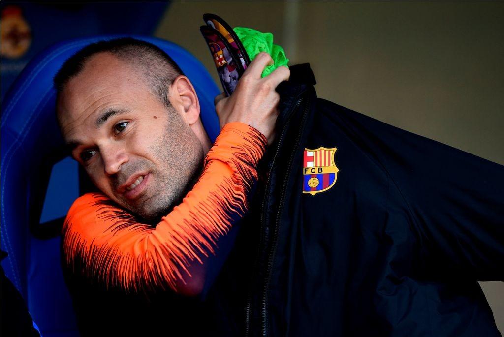 Andres Iniesta (AFP PHOTO / MIGUEL RIOPA)