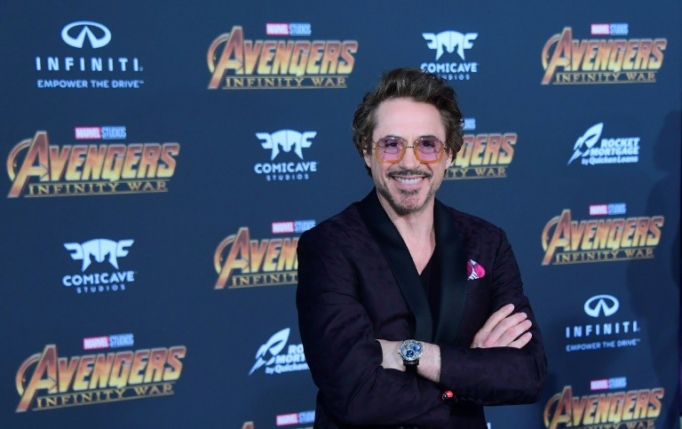 Actor Robert Downey Jr arrives for the world premiere of