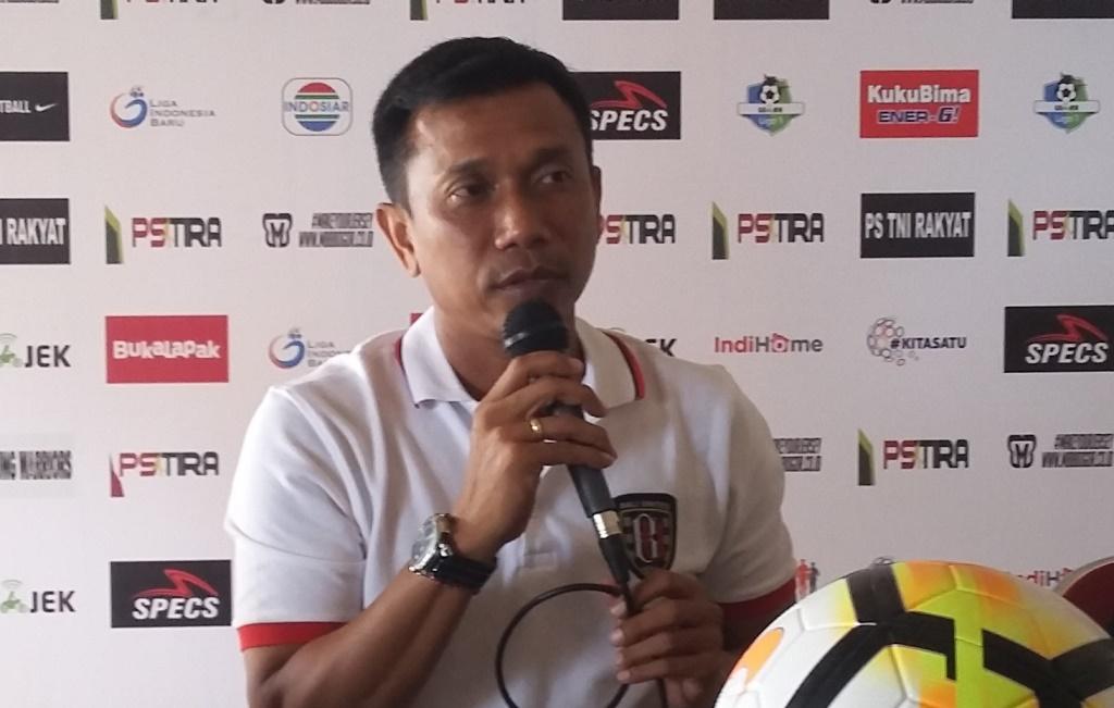 Pelatih Bali United, Widodo C Putro. (Foto: medcom.id/Ahmad Mustaqim)