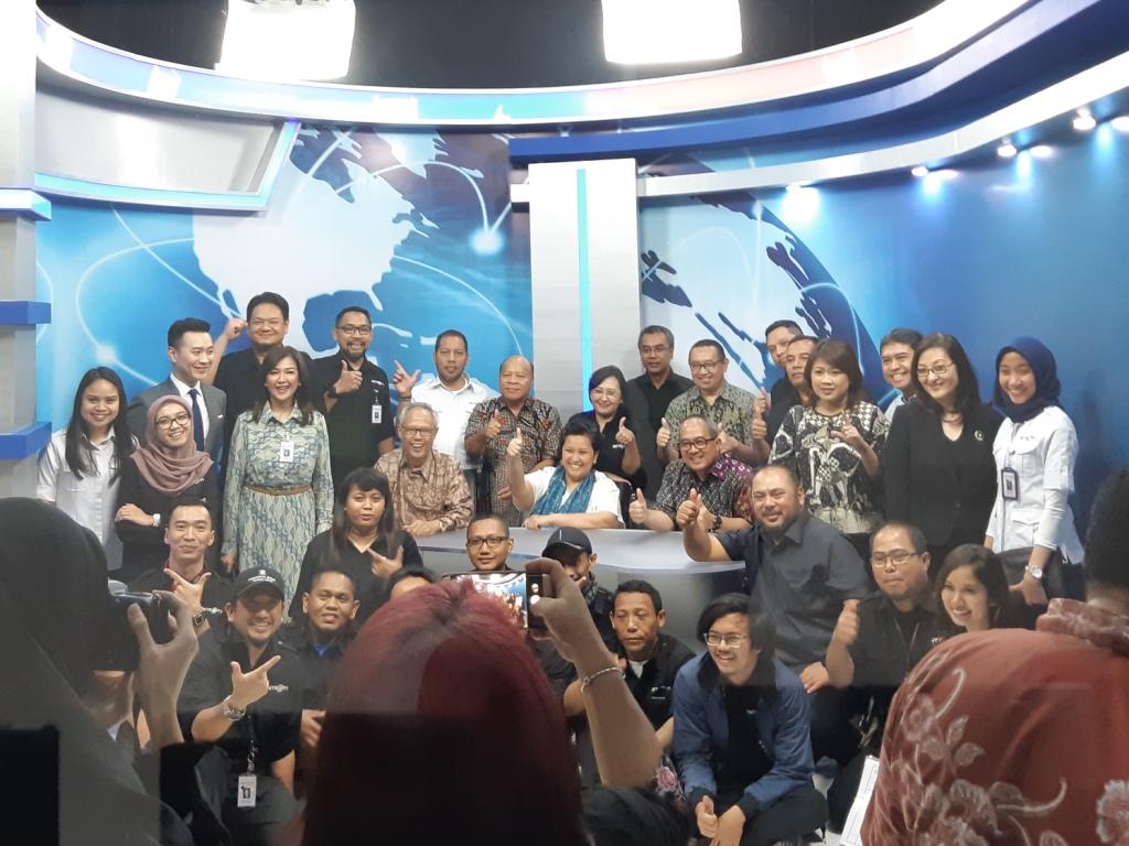 Studio TV Vokasi UI dan Metro TV. Foto: Medcom.id/Dhaifurrakhman Abas.