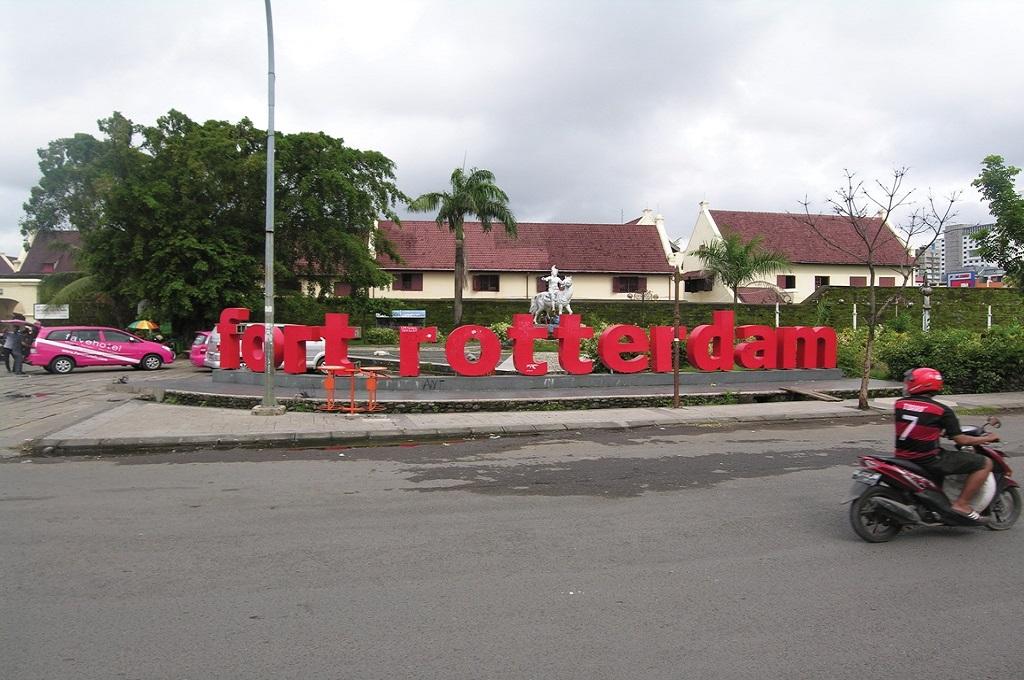 Fort Rotterdam menjadi lokasi pelaksanaan Festival Sastra di Makassar, MI