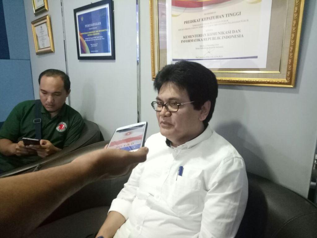 Dirjen Penyelenggaraan Pos dan Informatika, Prof Ahmad M. Ramli. (Foto: Medcom.id/Intan Yunelia).