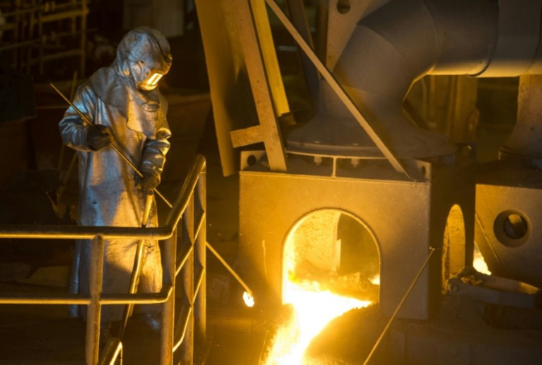The trade war could soon get hot if the United States follows through and imposes tariffs on European steel and aluminium. (Photo:AFP/Sebastian Bozon)