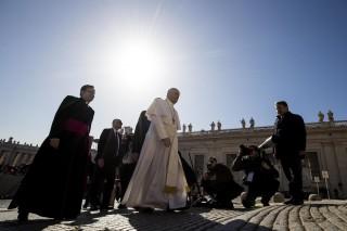 Paus Fransiskus Doakan Perdamaian Semenanjung Korea