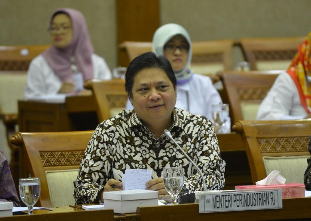 Menteri Perindustrian Airlangga Hartarto. (FOTO: ANTARA/Akbar Nugroho))