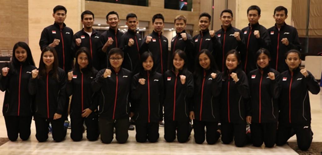 Skuat Indonesia di Badminton Asia Team Championships (BATC) 2018. (Foto: PBSI)