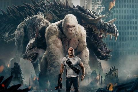 Dwayne Johnson Akui Filmnya Kalah Laris dari Infinity War